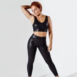 Workout Empire Shimmer Leggings Black